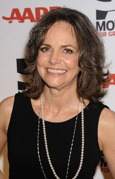 More versatile than short hair and easier to maintain than long hair, medium-length hair is perfect for women over 60. Sally Fields still looks pretty good.