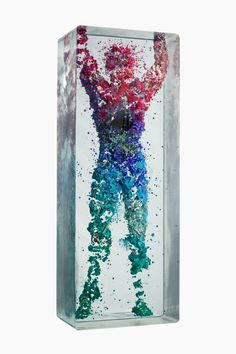 New Three-Dimensional Figurative Collages Encased in Multiple Layers of Glass by Dustin Yellin  http://www.thisiscolossal.com/2015/02/dustin-yellin-nycb-3d-dancers/