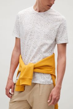 COS | speckled pattern in Yellow