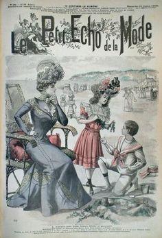 1900 Le Petit Écho de la Mode