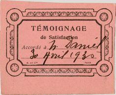 Témoignage de Satisfaction rose - Nelly Daniel  - avril 1936 (from http://souvenirsdecole.com/picture?/1457) H. et Cie - Paris