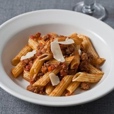 Pasta Bolognese // More Terrific Fast Dinners: http://www.foodandwine.com/slideshows/fast-dinner-recipes/1 #foodandwine