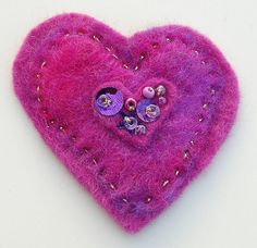Felted heart | Flickr - Photo Sharing!