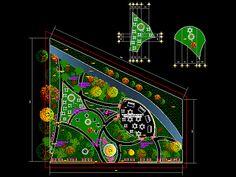 Engineering  et Architecture: Parc récréatif dwg
