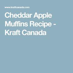 Cheddar Apple Muffin