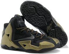 Nike Lebron 11 Gold Black Grey