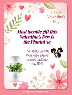 Remember your loved ones ❤️ on Valentine's Day 💚 This Smart Garden bundle by Plantui is especially for younger people with less space #indoorgarden #gift #valentinesday