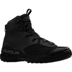 Tactical Footwear 177897: Under Armour 1276598 Men S Black 7 Infil Hike Gtx Leather Boots - Size 9 -> BUY IT NOW ONLY: $180.68 on eBay!