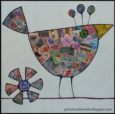 Dream Painters: Folksy Birds - Paddy Art #4