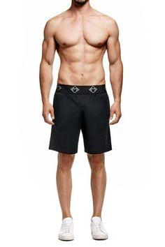 Board Shorts Sunny 2018 New Italy Brand Linen Beach Shorts Men Fashion Elastic Waist Loose Board Shorts Men 38 Drop Shipping Short Masculino Praia