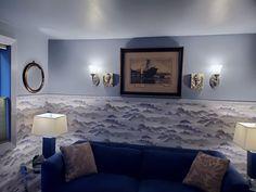 """HeartDeco,"" Lakeheart Guesthouse Living Room Oregon Coast, Gallery Wall, Art Deco, Living Room, The Originals, Home Decor, Decoration Home, Room Decor, Home Living Room"