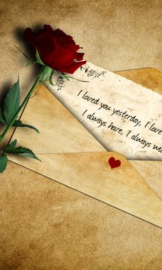 ♡ I loved you yesterday, I love you still, I always have, I always will ♡
