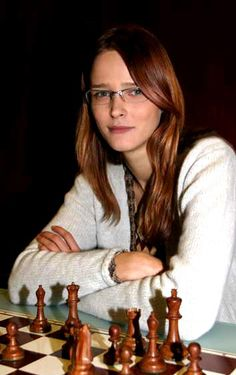 Carmen Kass, during her visit in Finland as a chess player.