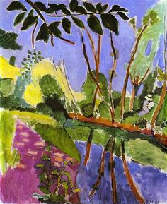 matisse paintings | The Riverbank - Henri Matisse - WikiPaintings.org