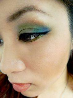 FOTD: Emerald Pretty (Tarina Tarantino palette)