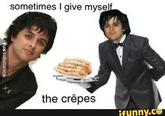 Why am I laughing at this XD, basket case is probly one of my favorite songs by them.