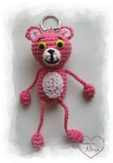 My Stuff: Pink Panther  Inspiration only - no pattern