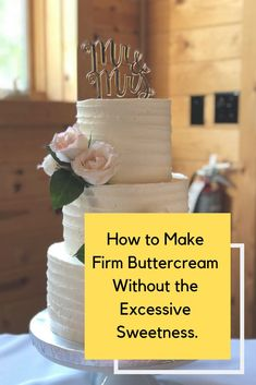 This pin will definitely help you to create some great tasting buttercream that's very durable at the same time.