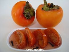 nergismevsimi: CENNET HURMASI REÇELİ Jam Recipes, Fruit Recipes, Sweet Recipes, Dessert Recipes, Healthy Eating Tips, Healthy Nutrition, Persimmon Jam Recipe, Happy Cook, Vegetable Drinks