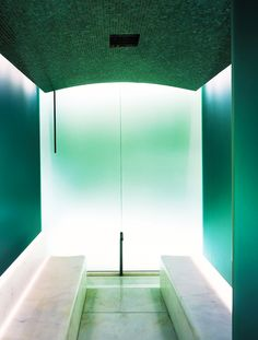Steam room - Bulgari Hotel - Milan, Italy