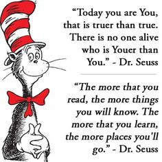 CELEBRATE Friday, March 1  Read Across America with your local Education Association & your library❤