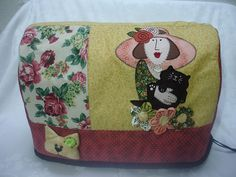 sewing machine cover? Just LOVE this applique ~!~