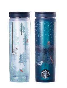 Starbucks Korea 2017 Autumn Woodland Case Tumbler 473ml