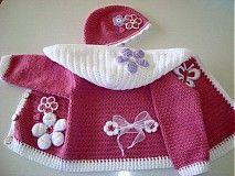 Detské oblečenie - Ružový svetrík  - 1197016