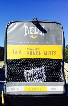 boxing equipment Everlast Ta: A Advanced Punch Mitts Training Workout Adult new #Everlast