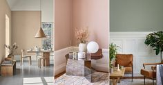 Så målar vi 2019 – 5 stora färgtrender Colour Schemes, Color Combinations, Wall Colors, Paint Colors, Wall Color Combination, Beautiful Space, Elle Decor, Interior Inspiration, Bedroom