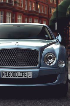 Bentley Mulsanne Mr. Goodlife Edition • Mr. Goodlife • Instagram