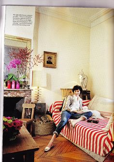 At home with Ines de la Fressange
