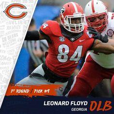 Chicago Bears Leonard Floyd LIMITED Jerseys