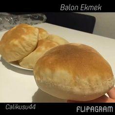 """1,701 Beğenme, 74 Yorum - Instagram'da Feride ® (@calikusu44): """"Balon Ekmek 🎈 malzemeler: 2 su bardağı ılık su 1 çay bardağı sıvıyağ 1 yemek kaşığı yoğurt 1 tatlı…"""""""