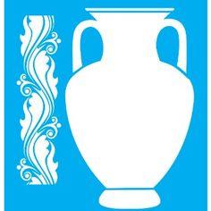 Stencil-para-Pintura-25x20-Vaso-e-Arabesco-LSG-005---Litocart