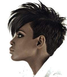 Cool and modern short hair style!