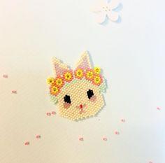 tissage miyuki brick stitch