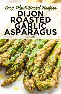 Easy Plant-Based Recipes: Dijon Roasted Garlic Asparagus Dijon garlic and lemon juice make a this a tasty and zesty side dish. Roasted to perfection this garlic mustard asparagus is warm fragrant and flavorful. Source by cocoonapothecary Healthy Side Dishes, Side Dish Recipes, Vegetarian Recipes, Cooking Recipes, Healthy Recipes, Cheap Recipes, Skinny Recipes, Vegetable Recipes, Keto Recipes