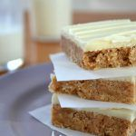 No-Bake White Chocolate Almond Butter Squares