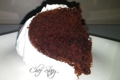 Chocolate cake with boiled icing