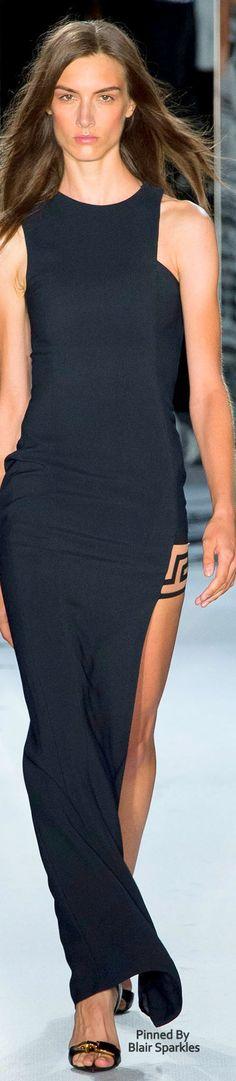 Versace Spring 2015 RTW ♕♚εїз | BLAIR SPARKLES