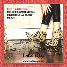 """#FelizViernes """"¡Mis #tacones como mi #autoestima.... mientras más altos mejor!""""   Nos encantan estos tacones de #animalprint de #SteveMadden. Este estampado ayuda a que un #look simple se vea fabuloso y muy #chic. Consiguelos en www.lolarey.com #LolaRey  ** Shop Now ► http://www.lolarey.com/ficha--STEVE_MADDEN-SALON_LEOPARDO_PONY_7069-LEOPARDO.php?id=69020&opc=todos"""