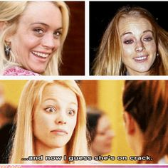 mean girls. how many mean girls references can I pin? Mean Girls, I Smile, Make Me Smile, Funny Cute, The Funny, Funny Pick, Funny Celebrity Pics, Lol, I Love To Laugh