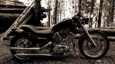 Shared by Yamaha Virago XV 535 Virago 535, Yamaha Virago, 49cc Moped, Custom Bobber, Scrambler, See Picture, Motorbikes, Funny Jokes, Bobbers