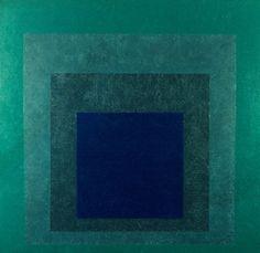 Homage to the Square: Ritardando - Josef Albers, 1958