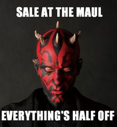 Rest in pieces, Maul.