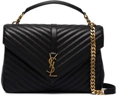 90506436f44e Saint Laurent collège quilted leather shoulder bag