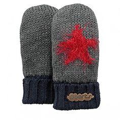 Barts Milkyway Kinder Handschuhe dark heather