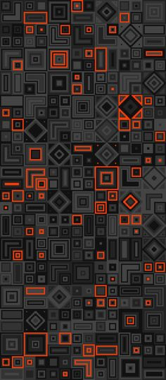'Reboot Geometric Pattern iPhone Case by russfussuk Orange Wallpaper, Dark Wallpaper, Screen Wallpaper, Mobile Wallpaper, Wallpaper Backgrounds, Wallpapers En Hd, Artistic Wallpaper, Beautiful Wallpaper, Abstract Backgrounds