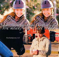 553 Likes, 5 Comments - Gabby Heartland Season 1, Heartland Actors, Heartland Quotes, Heartland Ranch, Heartland Tv Show, Best Tv Shows, Favorite Tv Shows, Ty Et Amy, Alisha Newton